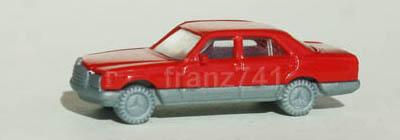 PKWs-Fleischmann-9813-Mercedes-500-SE-rot
