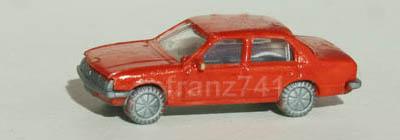 PKWs-Fleischmann-9814-Opel-Record-Rekord-E-braunorange