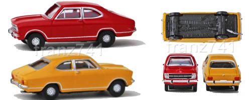PKWs-Herpa-065979-Set-Opel-Kadett-B