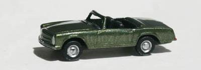 PKWs-IMU-12007-Mercedes-Benz-230-SL-Pagode-dunkelgruen