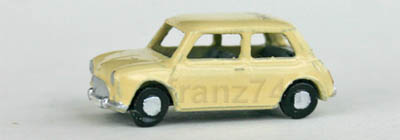 PKWs-MZZ-f130-Austin-Morris-Mini-Cooper-beige