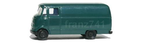 PKWs-Rietze-16038-Mercedes-L-319-Bus-gruen