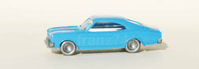 PKWs-Wiking-910-4xx-x-Opel-Rekord-Coupe-Commodore-A-blau