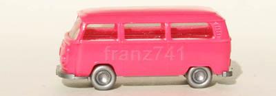 PKWs-Wiking-910-8x-xx-VW-Kombi-T2-pink