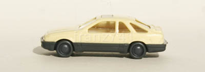 PKWs-Wiking-911-6x-xx-Ford-Sierra-XR4-creme-grau-mit-Schiebedach