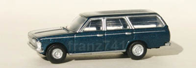PKWs-tomytec-cc4-66-Toyota-Crown-Kombi-dunkelblau