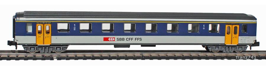 Arnold-0371-2-EW-I-Personenwagen-NPZ-SBB-1Klasse