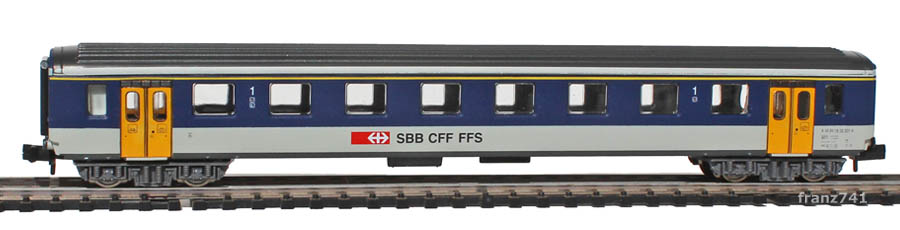 Arnold-3106-EW-I-Personenwagen-NPZ-SBB-1Klasse