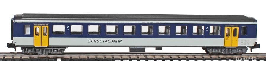 Arnold-3255-EW-I-Personenwagen-NPZ-STB-2Klasse