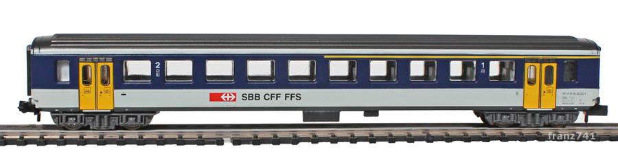 Arnold-3256-EW-I-Personenwagen-NPZ-SBB-1-2Klasse_S1