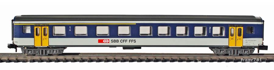 Arnold-3257-EW-I-Personenwagen-NPZ-SBB-1-2Klasse_S1