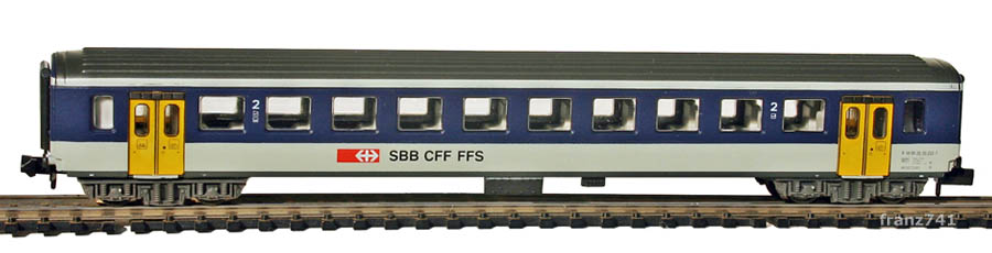 Arnold-3258-EW-I-Personenwagen-NPZ-SBB-2Klasse