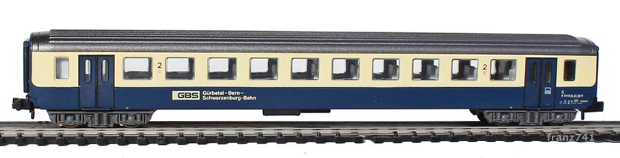 Arnold-3259-EW-I-Personenwagen-GBS-BLS-2Klasse