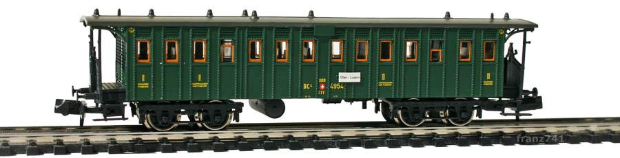 Brawa-65025-Personenwagen-SBB-2-3Klasse