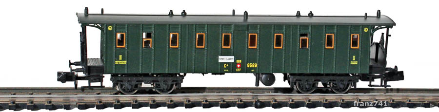 Brawa-65029-Personenwagen-SBB-8589-3Klasse