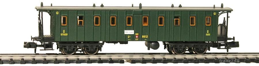 Brawa-65029-Personenwagen-SBB-8612-3Klasse