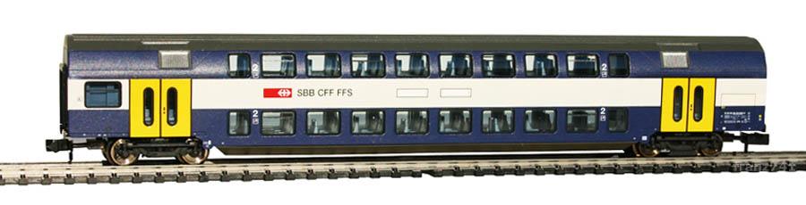 Fleischmann-8155K-V2-SBahn-DoStoWagen-SBB-2Klasse