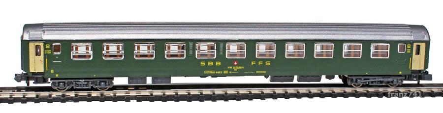 Kato-Hobbytrain-20000-3-Personenwagen-SBB_2Klasse