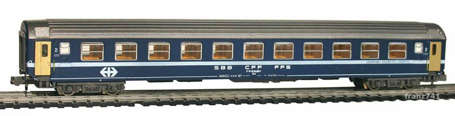 Kato-Hobbytrain-20000-5-Liegewagen-SBB_altes-Logo