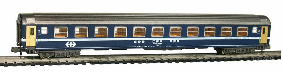 Kato-Hobbytrain-20004-Personenwagen-SBB_2Klasse