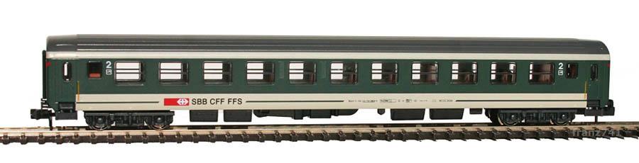 Kato-Hobbytrain-23102-Personenwagen-SBB_2Klasse