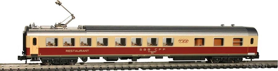 Kato-Hobbytrain-23302-Speisewagen-SBB