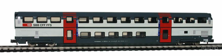 Kato-Hobbytrain-25102-DoSto-Personenwagen-SBB-2Klasse