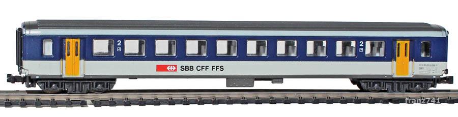 Lima-163917-2-EW-II-Personenwagen-NPZ-SBB-1-2Klasse