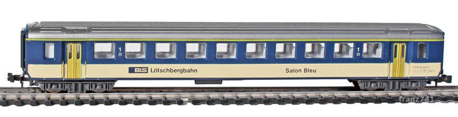 Lima-163947-EW-I-Personenwagen-BLS-1Klasse-Salon-Bleu