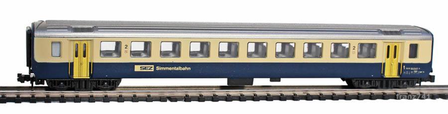 Lima-163947-EW-I-Personenwagen-SEZ-BLS-2Klasse