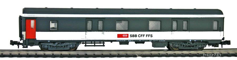 Lima-320388-Gepaeckwagen-SBB-ex-SNCF