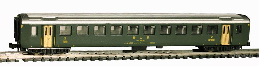 Lima-320804-EW-I-Personenwagen-BLS-2Klasse