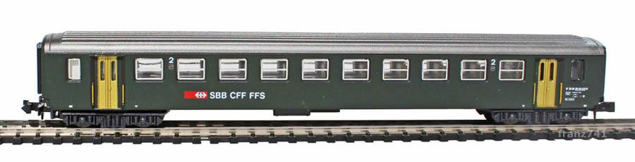 Lima-320809-EW-I-Personenwagen-SBB-2Klasse