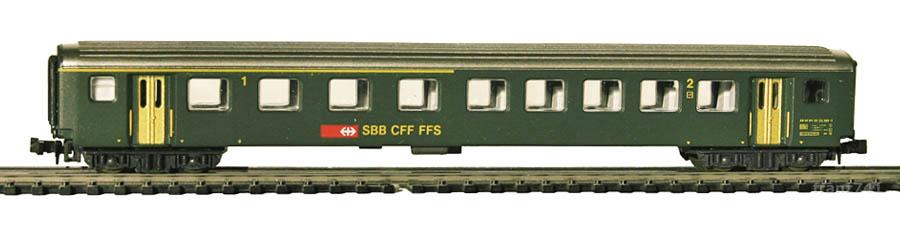 Lima-320831-EW-II-Personenwagen-SBB-1-2Klasse