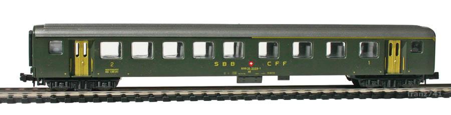 Lima-320832-EW-II-Personenwagen-SBB-1-2Klasse