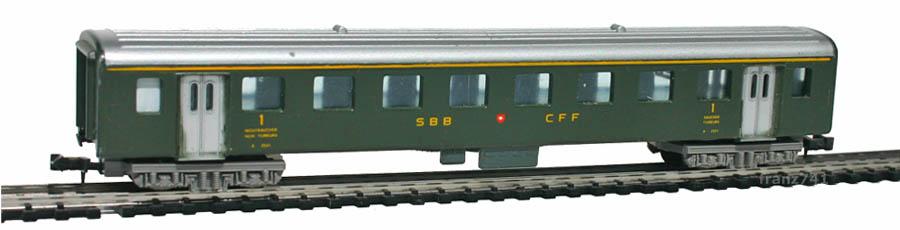 Lima-380308-A4-Personenwagen-SBB-1Klasse