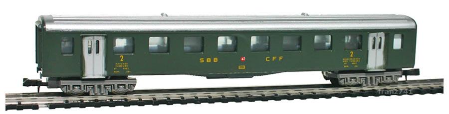 Lima-380318-B4-Personenwagen-SBB-2Klasse