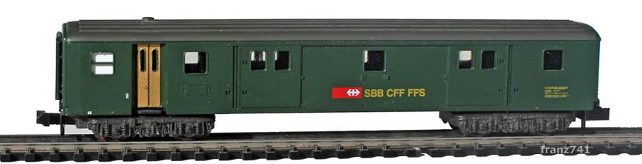 Minitrix-13362-Gepaeckwagen-SBB_S1