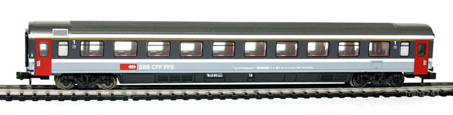 Minitrix-13776-Personenwagen-SBB-1Klasse