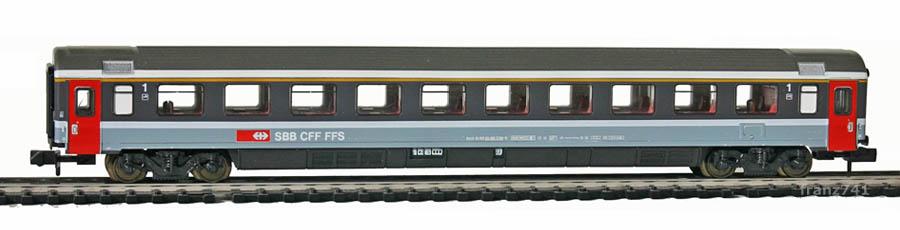 Minitrix-Set-71460-Personenwagen-SBB-1Klasse