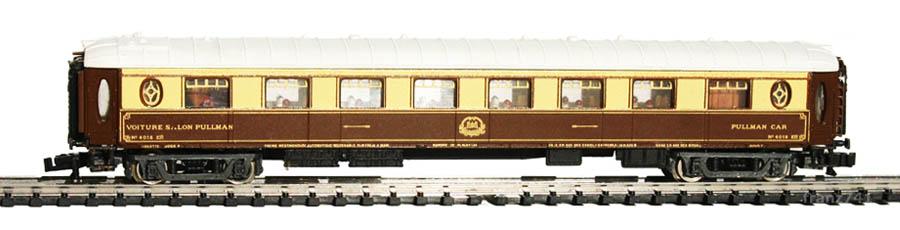 Rivarossi-9555-Pullman-Restaurantwagen-4018-braun-beige-weiss