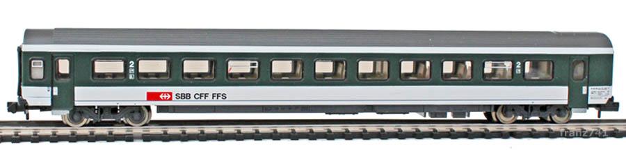 Roco-24500-EW-IV-Personenwagen-SBB-2Klasse