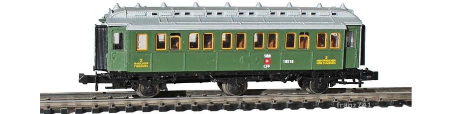 Unbekannt-B3-3-achs-Personenwagen-geschlossene-Plattform-SBB-2Klasse_S1