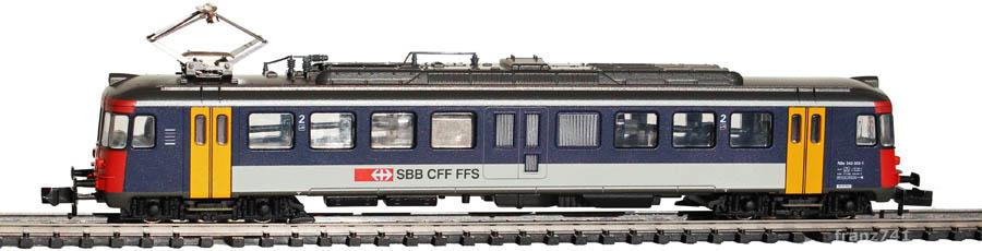 Arnold-2384-RBe-540-055-1-Personen-Triebwagen-SBB-NPZ