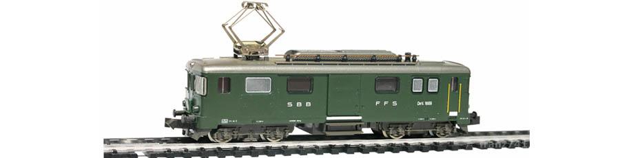 Hobbytrain-14445-De-4-4-1669-Gepaeck-Triebwagen-SBB