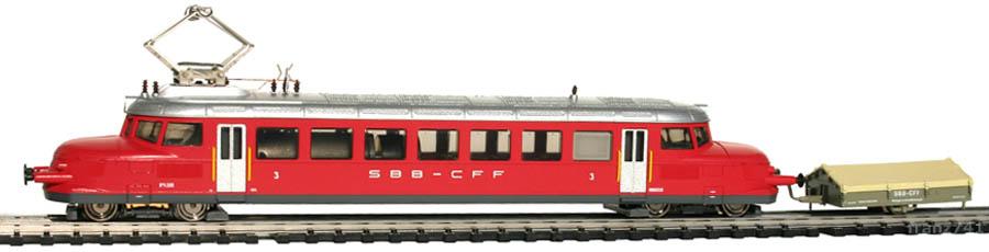 Hobbytrain-2642-1-RBe-2-4-204-Personen-Triebwagen-SBB-Roter-Pfeil