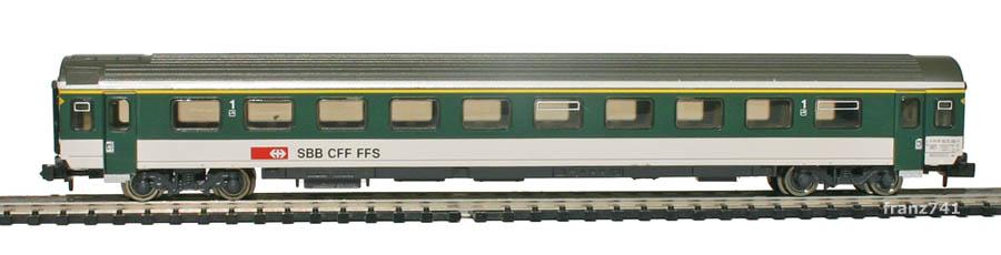 Fleischmann-8902-02-EW-IV-Personenwagen-SBB-1Klasse