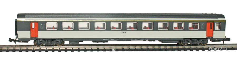 Lima-MiniTrain-320325-Personenwagen-SNCF-1Klasse-Corail
