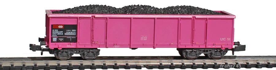 verk-Roco-25169-Eaos-Hochbordwagen-SBB-pink