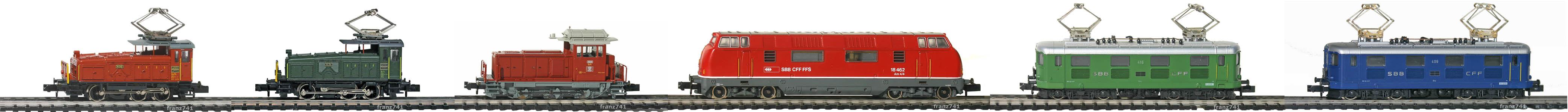 Epoche-II-III-SBB-Rangier-und-Prototypen-Loks